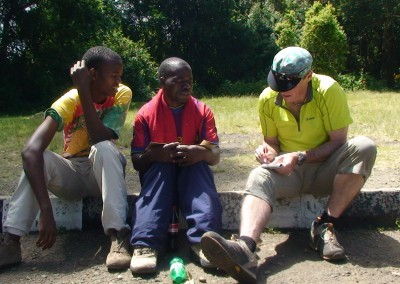 Mountain guide education Tanzania