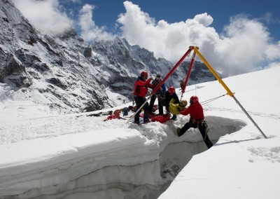 Mountain rescue specialists