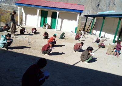 Arandu school building 2020-2021