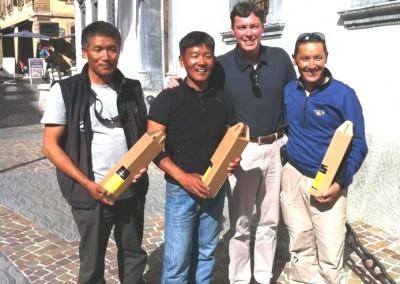 Fondation de l'association Népalais de Guides de Montagne