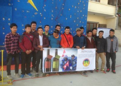 Formation avalanche (Nepal) – 2017 – 2020