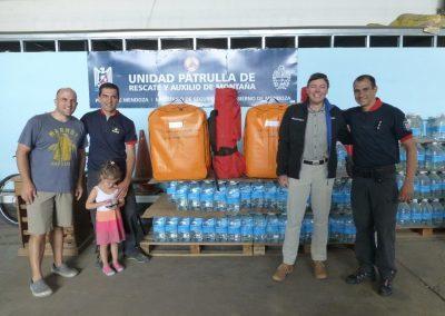 Luge de sauvetage pour l'Aconcagua (Argentine) – Décembre 2016