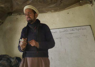 Cours anglais pour porteurs, Arandu (Pakistan)