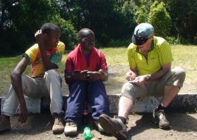 Bergführer-Ausbildung in Tansania