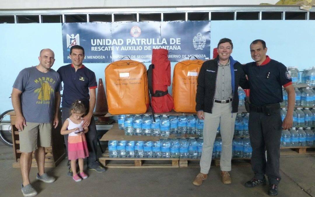 Rettungsschlitten Aconcagua (Argentinien) – Dezember 2016