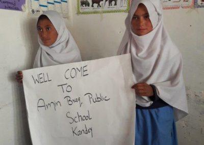 Amin Brakk Public School, Kandey (Pakistan) – 2017 – 2021