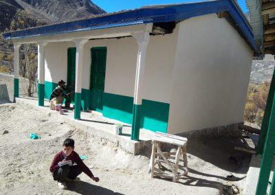 Une nouvelle école pour Arandu