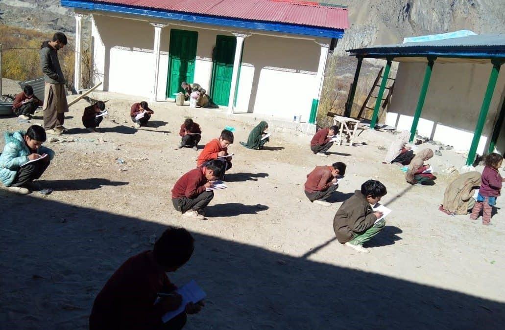 Schulgebäude Arandu, Pakistan